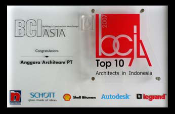 THE BEST TOP TEN ARCHITECT IN SEA INDONESIA 2013