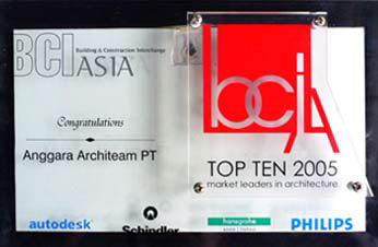 THE BEST TOP TEN ARCHITECT IN SEA & CHINA 2005